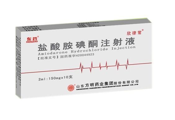鹽酸胺碘酮注射液